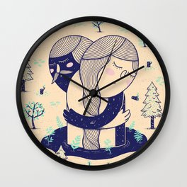 Forgiveness Wall Clock