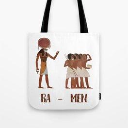 Ancient Egypt Ramen Tote Bag