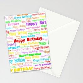 Happy Birthday! 1 Stationery Cards