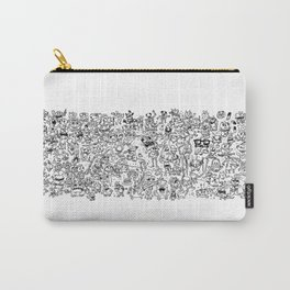 Monster Collage Carry-All Pouch