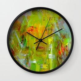 Senza una donna Wall Clock