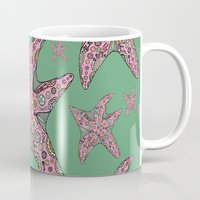 starfish Mugs featuring Starfish by Planet Hinterland