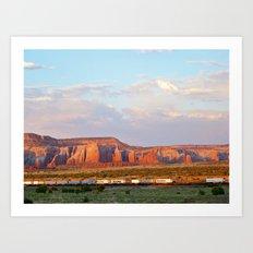 Southwestern Palette Art Print