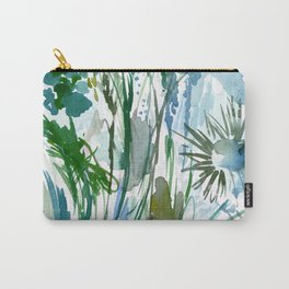 marelle: watercolor floral Carry-All Pouch