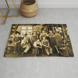 DeFrancisci & Son Macaroni Machines Rug