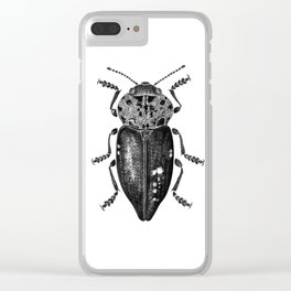 Beetle 11 Clear iPhone Case