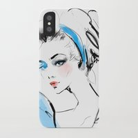 cinderella iPhone & iPod Cases featuring Cinderella  by emametlo