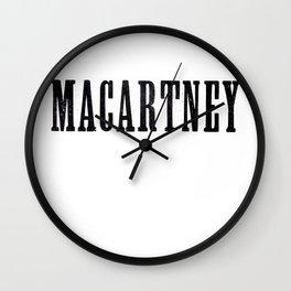 Macartney Wall Clock