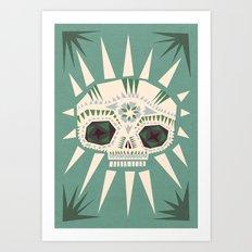 Sugar skull II Art Print