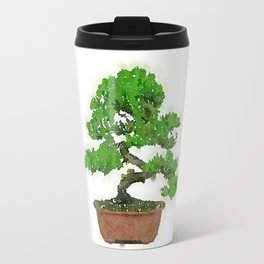 Japanese Bonsai Tree Travel Mug
