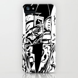 Frustrated iPhone Case