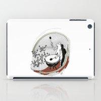 drum iPad Cases featuring Drum dancers by Vilnis Klints