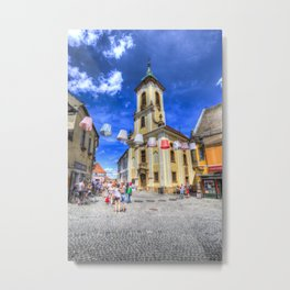 Szentendre Town Hungary Metal Print