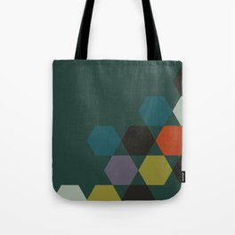 cluster || green night Tote Bag