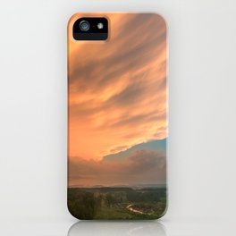 Devil's Den Divine Sunset iPhone Case