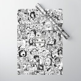 Ahegao classic Wrapping Paper