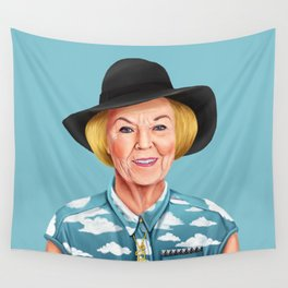 Hipstory - Queen Beatrix of the Netherlands Wall Tapestry