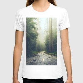 Redwood Forest Adventure - Nature Photography T-shirt