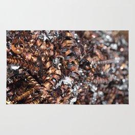 Copper cuttings Rug