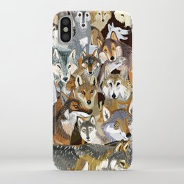Wolves o´clock (Time to Wolf) iPhone Case