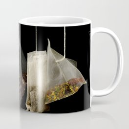 Teabags Hanging in the Air Coffee Mug