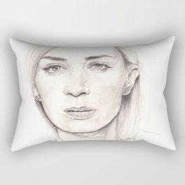 ms. blunt... Rectangular Pillow