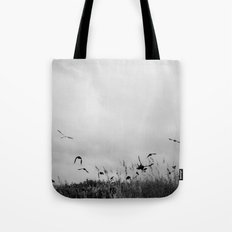 The Beautiful Flight ~ BW version Tote Bag