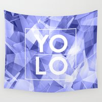yolo Wall Tapestries featuring Dreams of YOLO Vol.3 by HappyMelvin