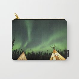 aurora borealis 3 Carry-All Pouch