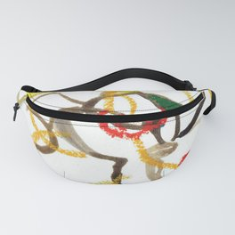 Sunny Morning Orchids Fanny Pack