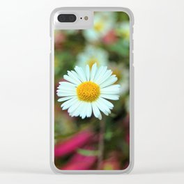 Daisy Bloom Clear iPhone Case