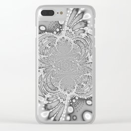 Flattened Spider Clear iPhone Case