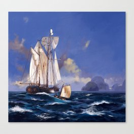 French galeas Canvas Print