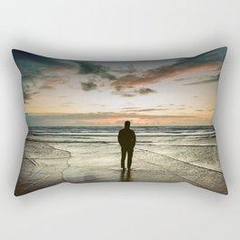 The End Rectangular Pillow