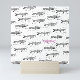 Sardine Fish - It's summer time!! Mini Art Print