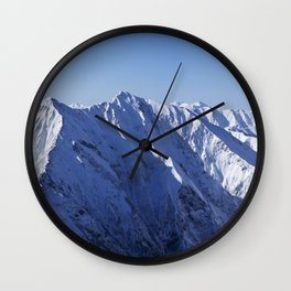 ICE MOUNTAINS Wall Clock