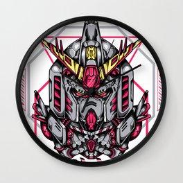 RX-78 Custom Sacred Geometry Wall Clock
