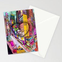 I love New York by Nico Bielow Stationery Cards