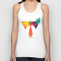 wolves Tank Tops featuring Wolves by Ricardo Moody