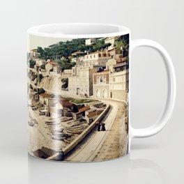 Beach at Marseille, France, ca. 1895 Coffee Mug