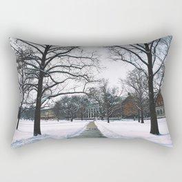 The Frozen Quad Rectangular Pillow