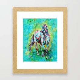 Free Spirit Horse Art Framed Art Print