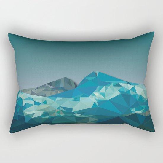Night Mountains No. 36 Rectangular Pillow