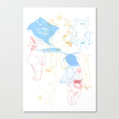 Gods of the Planets Canvas Print