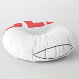 I voted for BLANK Floor Pillow