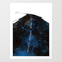 Galaxy Road Art Print