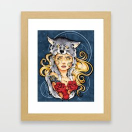 I Want You Safe (II) Framed Art Print