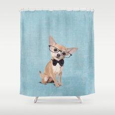 Mr. Chihuahua Shower Curtain