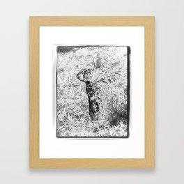 Spirit Rabbit III Framed Art Print