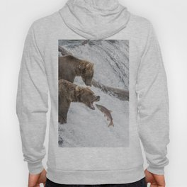 The Catch - Brown Bear vs. Salmon Hoody
